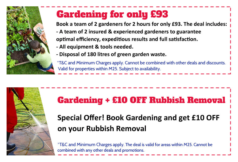 Gardeners Lewisham Offer